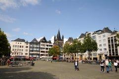 Heumarkt Cologne (Köln) Royalty Free Stock Image