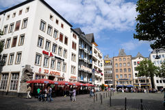 Heumarkt Cologne (Köln) Royalty Free Stock Images
