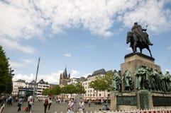 Heumarkt Keulen (Köln) Royalty-vrije Stock Foto's