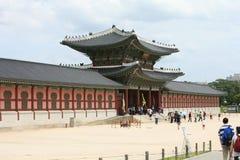Heungryemun gate Seoul Korea. Heungryemun gate, the south entrance to Gyeongbok Palace 2009 royalty free stock images