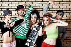 Heup-hop band Royalty-vrije Stock Foto