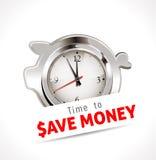 Heure d'épargner l'argent Photographie stock libre de droits