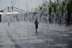 Heure d'été dans la métropole image libre de droits