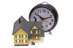 Heure d'acheter une maison Photo stock