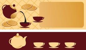 Heure de boire du café, thé Photo libre de droits
