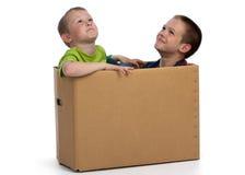 Heure de déménager ? photo libre de droits