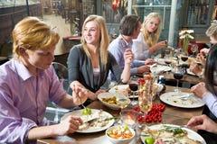 Heure de dîner Photos libres de droits