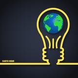 Heure de la terre illustration de vecteur