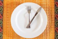 Heure de manger Photographie stock