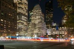 Heure de pointe dans la Cinquième Avenue Image stock