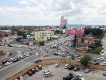 Heure de pointe en Kota Bharu, Kelantan Photographie stock libre de droits