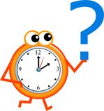 Heure des questions Image stock