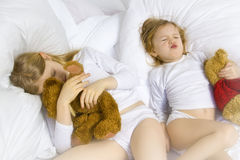 Heure du coucher Photographie stock libre de droits