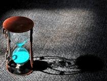 heure en verre Image stock