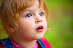 Heure heureuse pour la petite fille Photos libres de droits