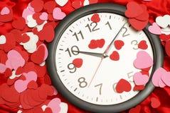 Heure pour l'amour Photo stock