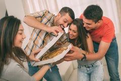 Heure pour la pizza Image libre de droits