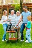Heure pour le barbecue Photographie stock libre de droits