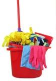 Heure pour le nettoyage Photo stock