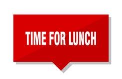 Heure pour le prix à payer de déjeuner illustration de vecteur