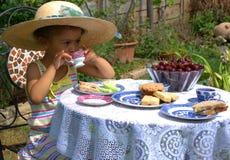 Heure pour le thé ! Photos libres de droits