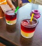 Heure pour une boisson Photos libres de droits