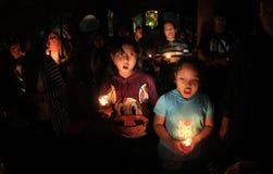 Heures de la terre en Indonésie Photos libres de droits