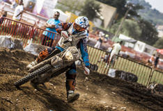 24 HEURES DE MOTOCROSS DE RACE DE RÉSISTANCE Photo stock