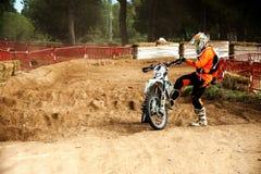 24 HEURES DE MOTOCROSS DE RACE DE RÉSISTANCE Image stock