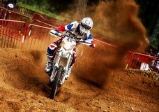 24 HEURES DE MOTOCROSS DE RACE DE RÉSISTANCE Photographie stock libre de droits
