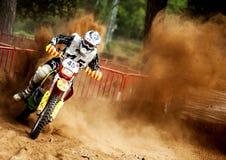24 HEURES DE MOTOCROSS DE RACE DE RÉSISTANCE Image libre de droits