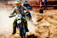 24 HEURES DE MOTOCROSS DE RACE DE RÉSISTANCE Images stock
