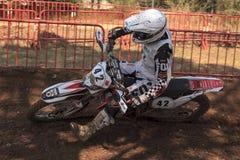 24 heures de motos de résistance. Lliça D'Amunt Photo libre de droits