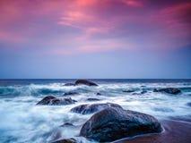 Heures de récréation au coucher du soleil Photo libre de droits