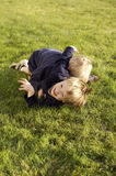 Heures de récréation pour des garçons photographie stock libre de droits