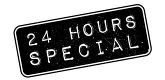 24 heures de tampon en caoutchouc de special Photographie stock libre de droits