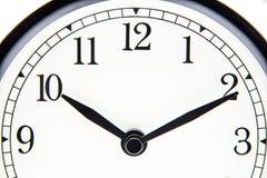 10 heures et 10 minutes Photographie stock libre de droits