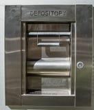 Heures ouvertes de dépôt de banque 24 photo libre de droits
