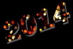 2014 heureux photographie stock libre de droits