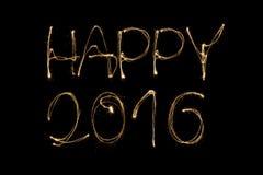 2016 heureux Photo stock