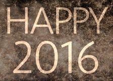 2016 heureux Photographie stock libre de droits