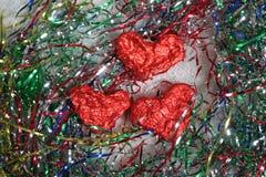 heureux dans l'amour et le x28 ; decoration& x29 ; Photos stock