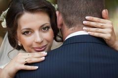 Heureux magnifique élégant romantique doux complètement des couples d'amour Photos libres de droits
