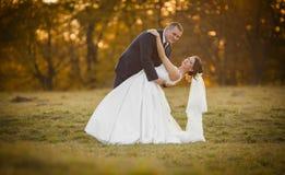 Heureux magnifique élégant romantique doux complètement des couples d'amour Photographie stock