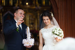 Heureux magnifique élégant romantique doux complètement des couples d'amour, spr Images stock