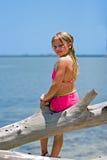 Heureux sur l'eau Photos libres de droits