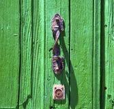 heurtoir brun à Lanzarote Espagne Photographie stock