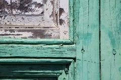heurtoir brun en laiton de canarias de l'Espagne en vert Photographie stock