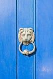 Heurtoir de porte antique Photos libres de droits