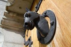 Heurtoir de porte - château de Neuschwanstein - l'Allemagne photos stock